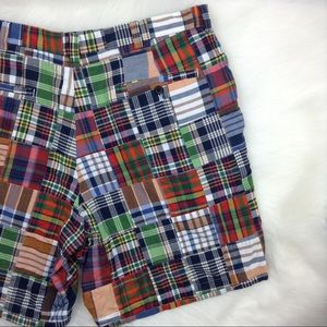 Brooks Brothers Madras Plaid Shorts